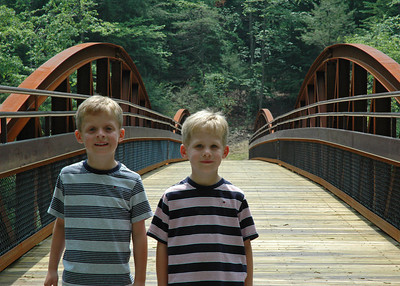 The Boys at the new Ned Smith Bridge