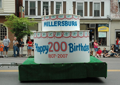 Millersburg 200th year B-day Cake (made by Pap)