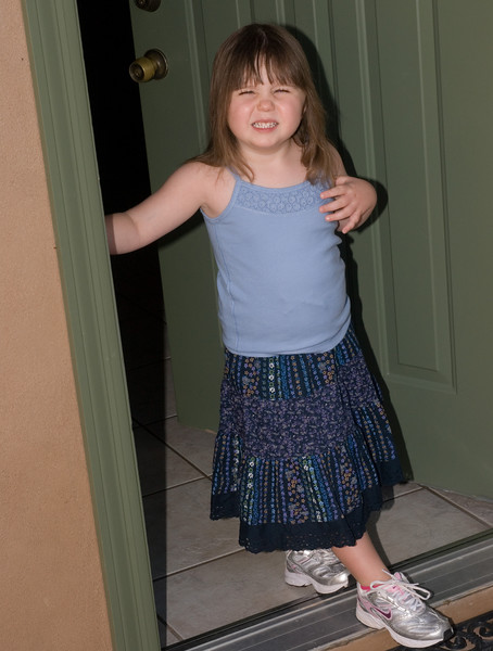 8.28.2007 -- Claire's first day of school.