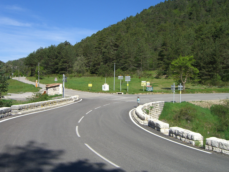 pont du loup at the andon turnoff