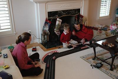 Slot Cars - Will, Amy & Bapa