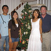 Keiichi, Miho, Saeko and Jim - Christmas 2007