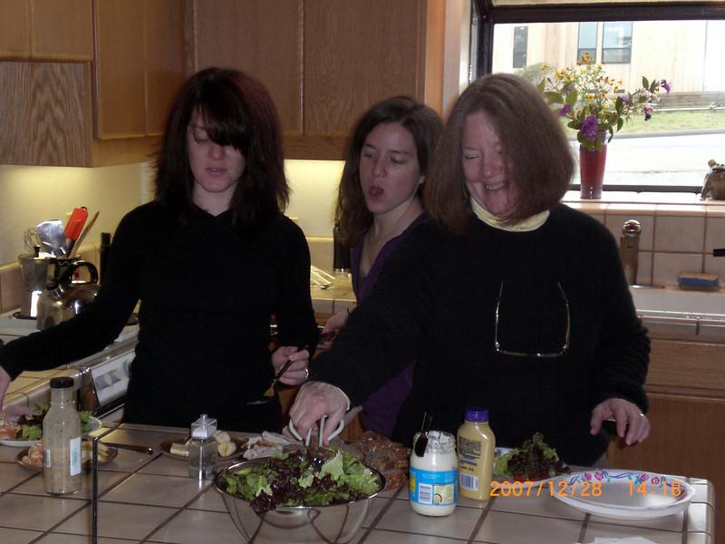 Clare, Althea, & Toni