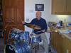 Practicing for the Reunion Tour of the Pearl-Mike-Zildjian Group