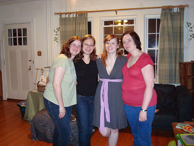 Deb, Casandra, Sarah Beth, and Mindy