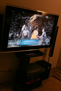 TV from side