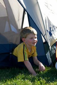 Gavin  Camping at Lake Chelan