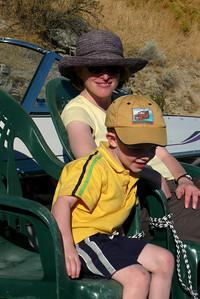 Gavin & Kathy at Lake Chelan