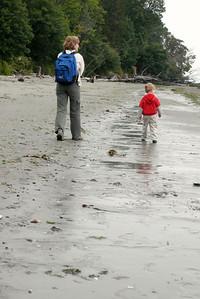 Gavin and Kathy on the beach