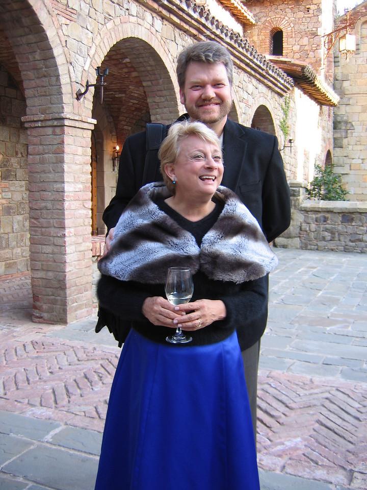 Bill Carrick & Kristin Hill<br /> Castello Di Amorosa