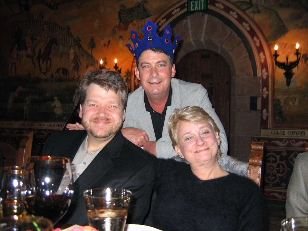 Castello Di Amorosa<br /> Bill Carrick, Paul Buck &<br /> Kristin Hill