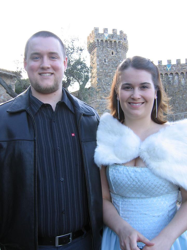 Galen Hoffman & Claire Mosher<br /> Castello Di Amorosa
