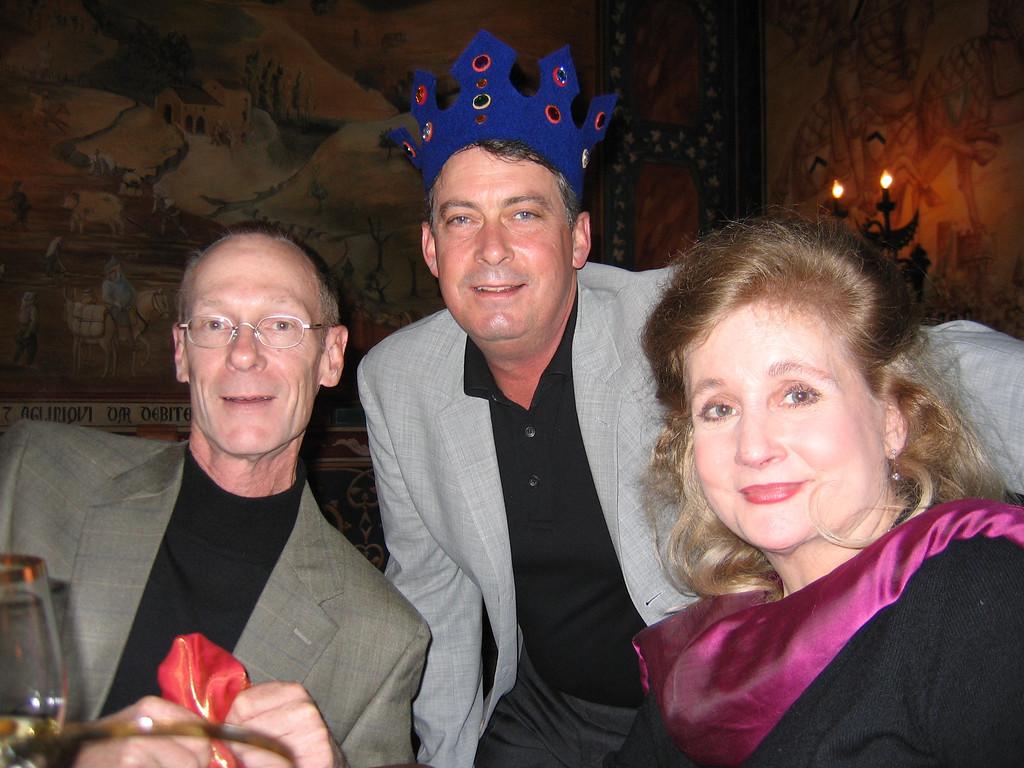 Castello Di Amorosa<br /> Marc Harvey, Paul Buck <br /> & Sheridan Mosher