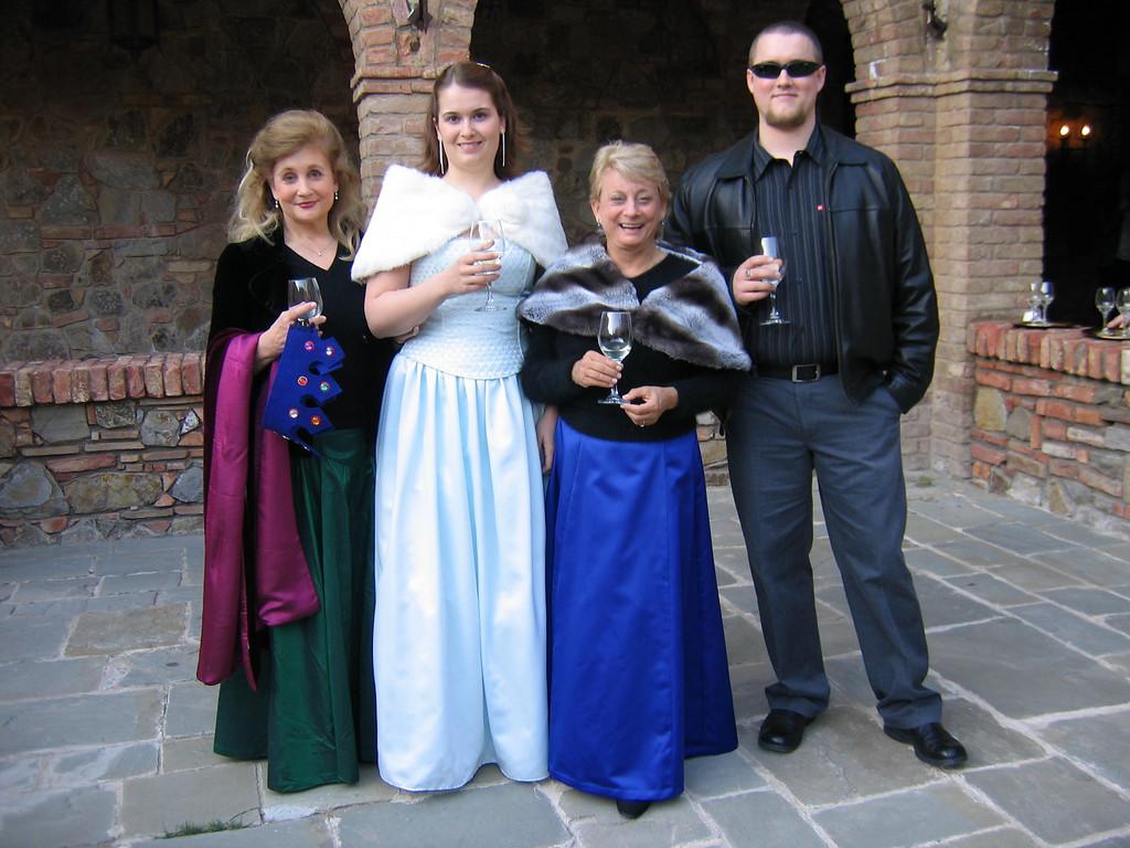 Sheridan Mosher, Claire Mosher, <br /> Kristin Hill & Galen Hoffman<br /> Castello Di Amorosa