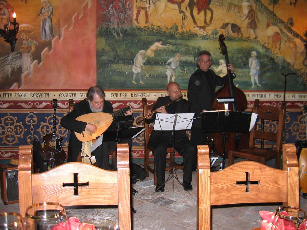 Carl Vast and friends<br /> Castello Di Amorosa