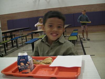2008-08-19 AJ's 1st day at Kindergarten