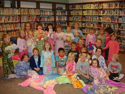 2008-11-19 AJ Library Pajama Party