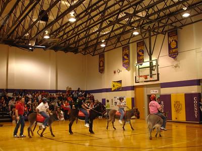 2008-11-25 Donkey Basketball