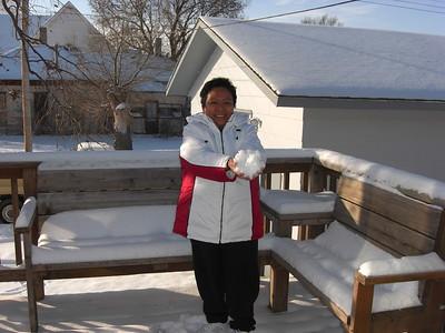 2008-12-19 Gramma Ester Snow