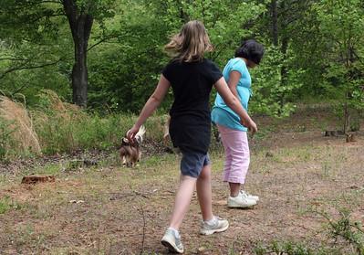 Amaya and Liz Go Off Into the Woods