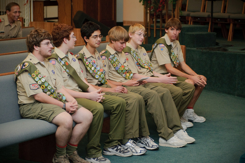 Anthony's Eagle Scout Ceremony -- 11.29.2008
