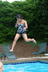 A more inventive jump by Liz