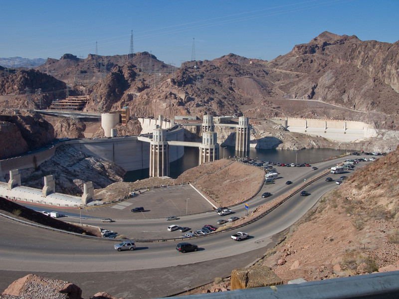 Hoover Dam from the Arizona overview