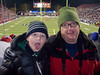 Connor and Dad at the Las Vegas Bowl