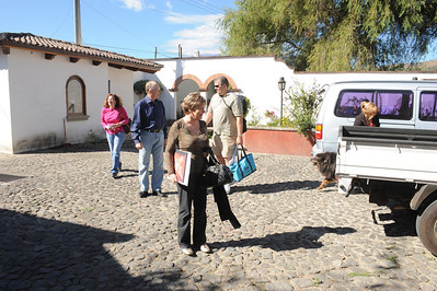 The Coopers arrive at Semillas de Amor