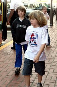 Walt and David in Downtown Dahlonega