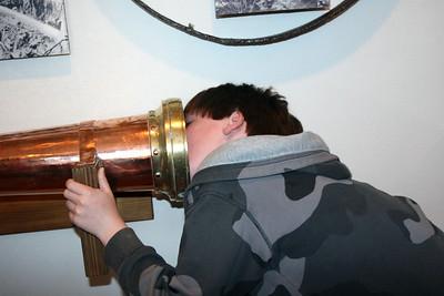 Ethan Checks out a Telescope