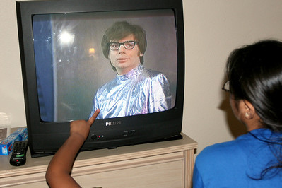 Watching Austin Powers