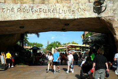 Leaving Islands of Adventure