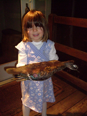 Kids With Wood Duck