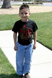 Miguel posing