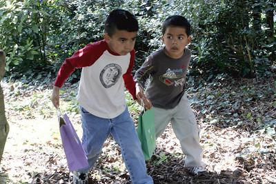 Julio and Jonathan Hunting