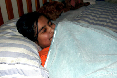 Liz (not) Sleeping