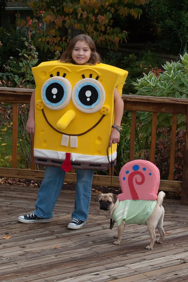 Halloween - SpongSyd & Gary