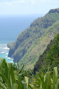 Na Pali (cliffs) coast