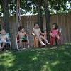 Olivia, Dylan, Daniel e Claire
