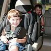 Dylan e Daniel... a caminho do Zoologico