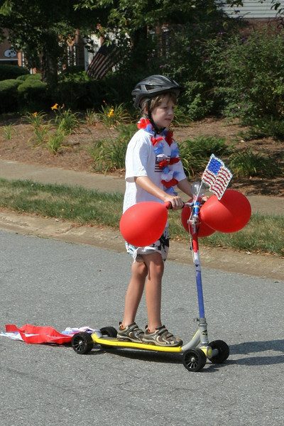 July 4 Parade in Sibley Forest