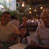 Em MIami com o vovo e papai