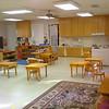 Sala de aula na escolinha antiga