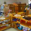 Sala de aula na escolinha antiga (Brabara Gordon Montessori School)