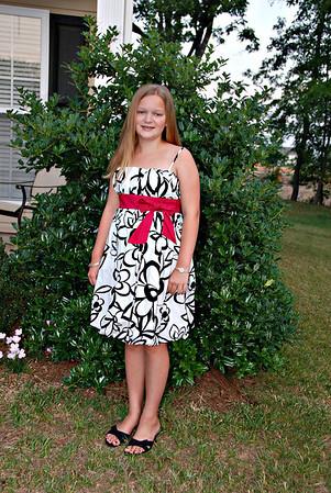 Molly's 5th grade graduation