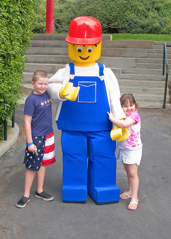 7.2.2008 - Our family vacation in San Diego.  The trip to Legoland.