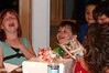 Sammi and Ethan are laughing at the birthday card they did for Ava where they recorded a sound message.