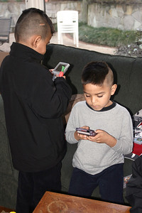 Julio and Miguel on Gameboy