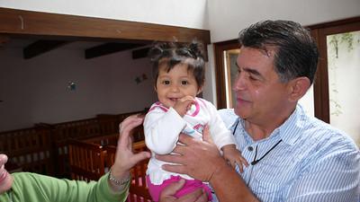 Papa Joe sheds a tear upon meeting Julia